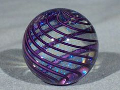 James Alloway Dichroic Marble #1999 < ° • ° >