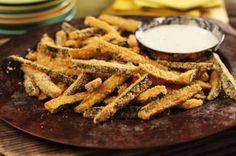 «Frites» de courgettes croustillantes cuites au four