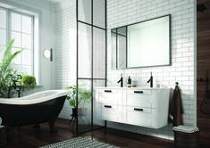 Meble łazienkowe/ bathroom furniture Inge New Collection Clawfoot Bathtub, Double Vanity, Bathroom, Design, Washroom, Bathrooms, Bath, Double Sink Vanity