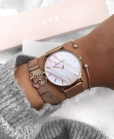 Rose Gold Pink Seashell Collection ✨ - Rose Gold Pink Seashell Collection ✨ Informations About Rose Gold Pink Seashell Collection ✨ Pin - Fancy Watches, Trendy Watches, Luxury Watches, Nixon Watches, Vintage Watches, Rolex Watches, Women Accessories, Jewelry Accessories, Fashion Accessories