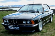 BMW E24 635csi in Iceland