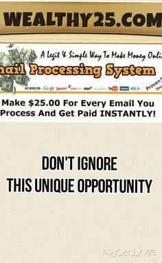 Work from home and have financial freedom. Payments daily.