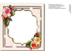 Incert With Lovely Begonias  on Craftsuprint - Add To Basket!