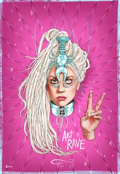 Lady Gaga ArtRave by Helen Green Lady Gaga Artpop, Lady Gaga Artrave, Tatuagem Lady Gaga, Helen Green, The Fame Monster, Lady Gaga Pictures, Sky Art, A Star Is Born, Little Monsters