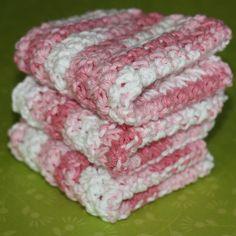 Trinity Stitch Free Crochet Washcloth Pattern