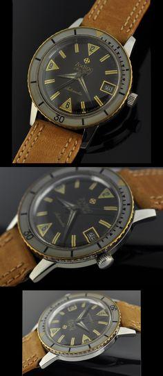 1970's Zodiac Sea Wolf automatic dive watch