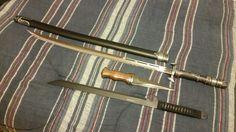 """justkissme-snowly: """" Commander Lexa's Weapons """"Ceremonial Sword - Samurai 3000 Katana Dagger - DM-1076 Damascus Sgian Dubh Sword - HK-1067 Ninja Sword (Commander Lexa's in Stainless Steel) """" """""""