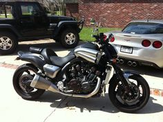 Yamaha V-MAX  All Carbon Fiber, Power Commander 185HP and 138 FT/Lb Torque to rear.   Ghost Rider 2..........