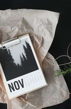 The Artifact Uprising Wood Calendar // Skip the lines. Design from home. Save 10% with code MERRY