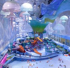 World's Wackiest Water Park Rises In Beijing, Where Michael Phelps Once Won Gold | Co.Design: business + innovation + design
