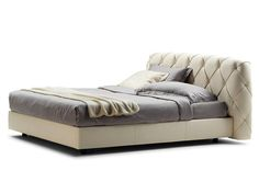 Double bed FLAIR by Poltrona Frau design Angeletti Ruzza Design