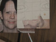 Students will use a small canvas to practice mixing skin tones and painting. Once they are comfortable with both, they will begin painting on their final canvas.