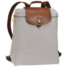 a66a8f0231e Longchamp Le Pliage Backpack in Putty  Longchamp  Backpack  Putty  Travel   Carryon