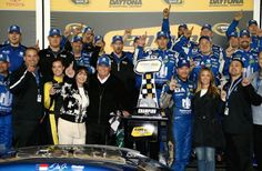Dale Jr wins on the 15th anniversary of his fathers passing