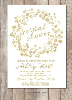 Pin and save: Pin this link and use code THANKS4PINNING to save 10% on your purchase!  https://www.etsy.com/listing/219542946/bridal-shower-invitation-glitter-bridal?ref=shop_home_active_19