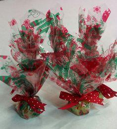 Christmas glycerin soap