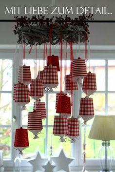 Mit Liebe zum Detail: Advent bei mir.. (M)ein Adventkalender. mit Pappbechern