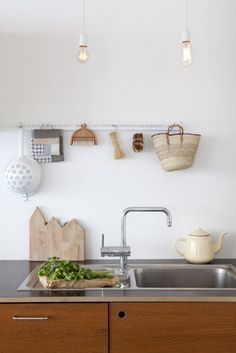 clean kitchen  Design is a life style. http://monarchyco.com/