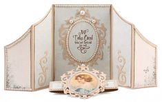 Gate Fold Card with Belly Band by Tara Brown