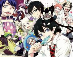 blue exorcist | Ao no Exorcist - Blue Exorcist ~ Anime - Cosplay & Beyond