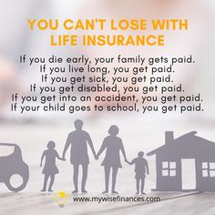 Life Insurance, Insurance Quotes, Live Long, Your Family, Sick, Finance, Financial Planning, Children, Schedule