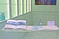 """The """"diario di bordo"""" project for Acqua dell'Elba showcases in Rome, Venice, Como, Florence, Siena and in the island of Elba. Window Display Design, Window Displays, Elba, Siena, Florence, Venice, Rome, Concept, Windows"""