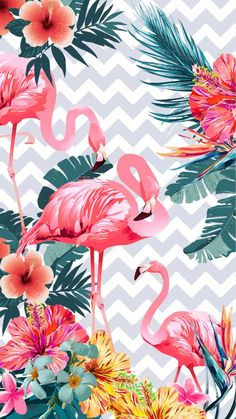 Wallpaper Flamingos 4 By Gocase Flamingos Flowers Flores Rosa Pink Plants Green A Em 2020 Papel De Parede Flamingo Imagens De Flamingo Flamingo Papel De Parede