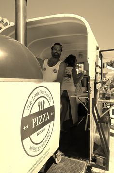 Little Kitchen Pizza Algarve - Gallery of past catering events, weddings and festivals. - The Little Kitchen Company Portugal Food Truck Catering, Catering Events, Converted Horse Trailer, Pizza Truck, Camper Makeover, Catering Companies, Garden Shop, Little Kitchen, Wedding Catering