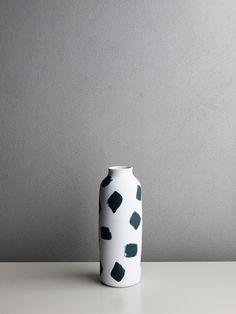 Andrei Davidoff Tall Painted Vase