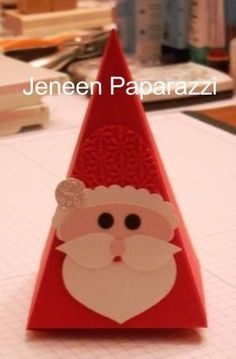Santa Treat Cone  by Jeneen Paparazzi