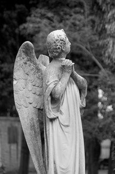 Angel, Cemetery Island, Venice, Italy