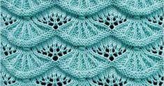 Alsacian Scallops | Knitting Stitch Patterns