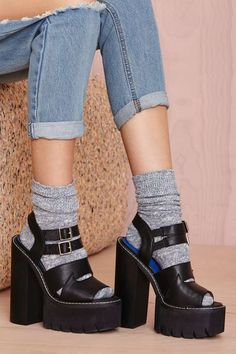 I want these!! Jeffrey Campbell Beyond Platform