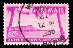 united+states+themed+stamps | 1959 issued 7 cent United States airmail postage stamp showing ...