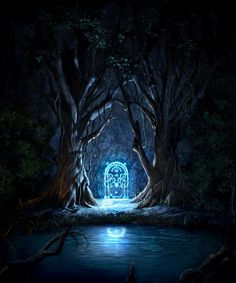 The Entrance to Moria. Repinned from Marsha Morwood via John Schwaninger.
