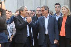 Homs acude al Supremo a declarar por el 9-N arropado por Mas