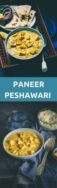 w tofu instead of paneer and a handful of peas. Paneer Peshawari is a delicious Paneer Curry that can be stirred up in 30 minutes, still bringing the authentic Peshawari flavors. Veg Recipes, Side Dish Recipes, Indian Food Recipes, Cooking Recipes, Healthy Recipes, Authentic Indian Recipes, Indian Vegetarian Recipes, Indian Paneer Recipes, Cooking Tips