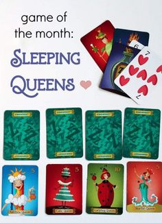 Sleeping Queens is the perfect choice for your next family game night! A fun, quirky card game that helps kids practice math facts. Fun Card Games, Card Games For Kids, Games For Boys, Fun Games, Gifts For Kids, Math Activities For Kids, Fun Math, Family Game Night, Family Games