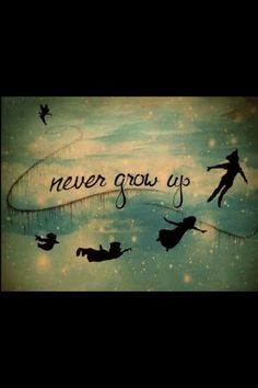 LOVE THIS! Want to make this into a print for my home! PeterPan