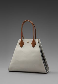 Yves Large Tote in White - Pour La Victoire