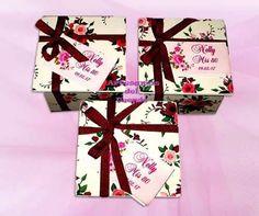 5 cajitas con pétalos de jabón regalo empresarial souvenir
