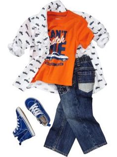 Toddler Boy Clothes: Outfits We Love | Old Navy