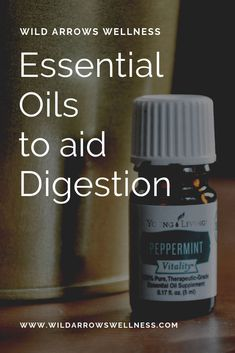 Natural Remedies using Essential Oils to help your Digestion.