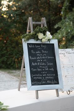 #chalkboard, #menus    Photography: A Simple Photograph - simplephoto.ca  Wedding Planning: Italy Weddings - italyweddings.com    Read More: http://www.stylemepretty.com/2012/07/13/tuscan-wedding-at-villa-francesca-by-a-simple-photograph/