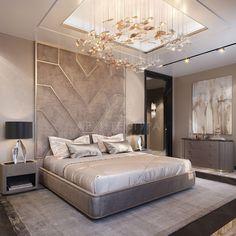 Modern bedrooms ✨غرف نوم مودرن Designed by Bedroom Furniture Design, Luxe Bedroom, Elegant Bedroom, Bed Furniture Design, Luxurious Bedrooms, Stylish Bedroom, Modern Bedroom, Modern Luxury Bedroom, Luxury Bedroom Master