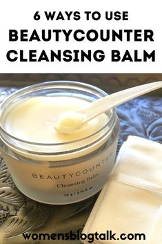 The Beautycounter Cleansing Balm literally MELTS into your skin removing makeup and impurities while it hydrates. Anti Aging Facial, Anti Aging Cream, Anti Aging Skin Care, Top Skin Care Products, Best Skincare Products, Lush Products, Beauty Products, Natural Facial Cleanser, Facial Cleansers