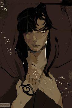 "cassandrajp: "" A young Jonathan Shadowhunter! "" Beautiful Cassandra Jean art - young Jonathan Shadowhunter"