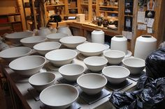 Alex Thullen Ceramics All in a day's work...