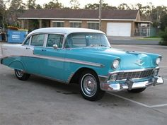 1956 CHEVROLET BEL AIR  $27000. Would be nice. Its close but LH drive and a bit too expensive for me