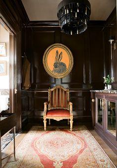 hunt slonem bunny at 2012 ATLANTA SYMPHONY ASSOCIATES' DECORATORS' SHOW HOUSE AND GARDENS
